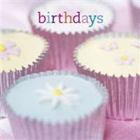 Birthdays (Cupcakes) Birthday Book