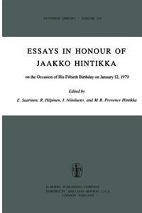 Essays in Honour of Jaakko Hintikka
