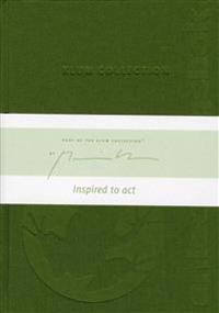 Grön Klum Collection Anteckningsbok illustrerad av Mattias Klum