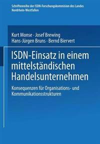 Isdn-einsatz in Einem Mittelständischen Handelsunternehmen