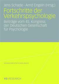 Furtschritte Der Verkehrspsychologie