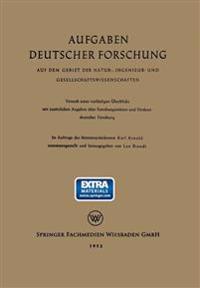 Aufgaben Deutscher Forschung - Karl Arnold  Leo Brandt  Leo Brandt - böcker (9783663030577)     Bokhandel