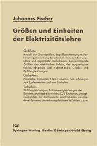 Groen Und Einheiten Der Elektrizitatslehre