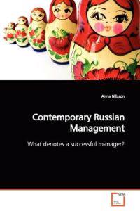 Contemporary Russian Management