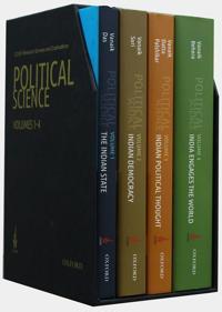 Icssr Research Surveys and Explorations: Political Science, Box Set, Volumes 1-4