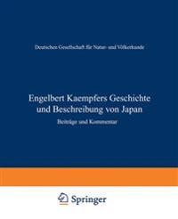 Engelbert Kaempfers Geschichte Und Beschreibung Von Japan