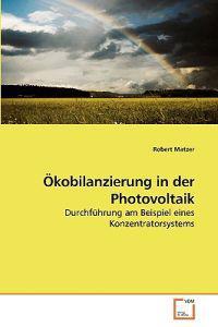 Okobilanzierung in Der Photovoltaik