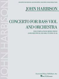Concerto for Bass Viol: For Double Bass & Piano Reduction