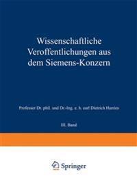 Wissenschaftliche Ver ffentlichungen Aus Dem Siemens-Konzern