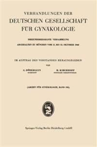 Verhandlungen Der Deutschen Gesellschaft Fur Gynakologie