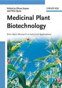 Medicinal Plant Biotechnology: From Basic Research to Industrial Applicatio