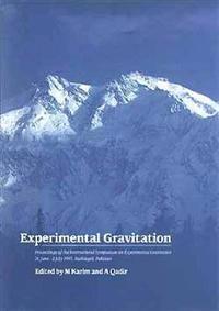 Experimental Gravitation