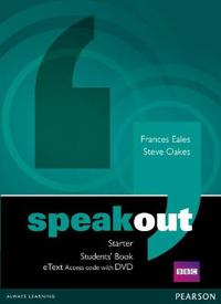 Speakout Starter Students' Book eText Access Card with DVD