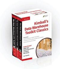 Kimball's Data Warehouse Toolkit Classics, 3 Volume Set