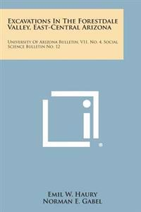 Excavations in the Forestdale Valley, East-Central Arizona: University of Arizona Bulletin, V11, No. 4, Social Science Bulletin No. 12