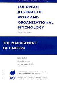 European Journal of Work and Organizational Psychology: The Management of C