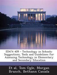 Ed474 409 - Technology in Schools