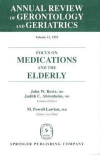 Annual Review of Gerontology and Geriatrics, 1992