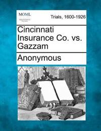 Cincinnati Insurance Co. vs. Gazzam