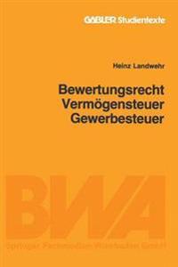 Bewertungsrecht/Vermögensteuer/gewerbesteuer