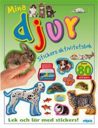 60253: Stickers aktivitetsbok, mina djur