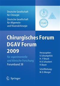 Chirurgisches Forum Und Dgav 2009