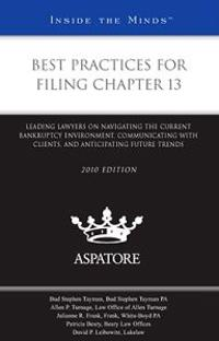 Best Practices for Filing Chapter 13