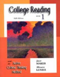 College Reading With the Active Critical Thinking Method