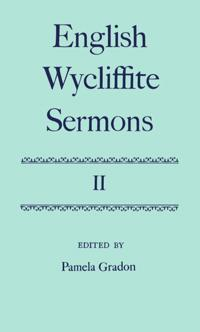 English Wycliffite Sermons: Volume II