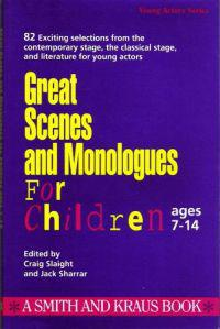 Great Scenes and Monologues for Children