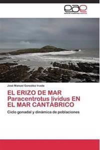 El Erizo de Mar Paracentrotus Lividus En El Mar Cantabrico