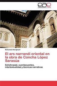 El Ars Narrandi Oriental En La Obra de Concha Lopez Sarasua