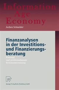Finanzanalysen in Der Investitions- Und Finanzierungsberatung