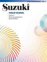 Suzuki Violin School, Vol 5: Piano Acc.