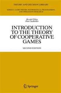 Introduction to the Theory of Cooperative Games
