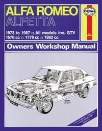 Alfa Romea Alfetta All Models Owners Workshop Manual
