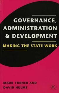 Governance, Administration and Development