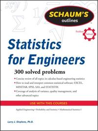 Schaum's Outlines Statistics for Engineers