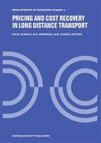 Pricing and Cost Recovery in Long Distance Transport