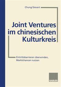 Joint Ventures Im Chinesischen Kulturkreis