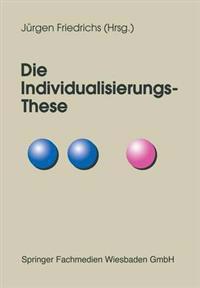 Die individualisierungs-these