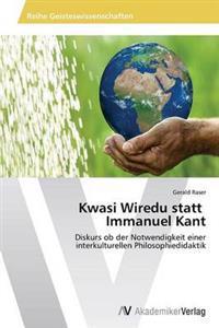 Kwasi Wiredu Statt Immanuel Kant