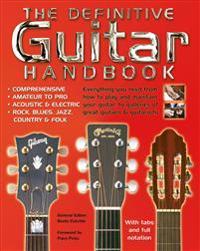 The Definitive Guitar Handbook