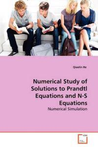 Numerical Study of Solutions to Prandtl Equations and N-s Equations