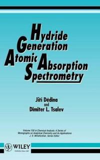 Hydride Generation Atomic Absorption Spectrometry