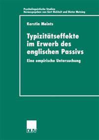 Typizitätseffekte Im Erwerb Des Englischen Passivs