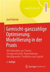 Gemischt-Ganzzahlige Optimierung: Modellierung in Der Praxis: Mit Fallstudien Aus Chemie, Energiewirtschaft, Papierindustrie, Metallgewerbe, Produktio