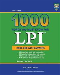 Columbia 1000 Words You Must Know for LPI: Book One with Answers