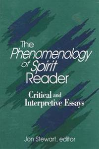 The Phenomenology of Spirit Reader