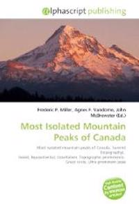Most Isolated Mountain Peaks of Canada
